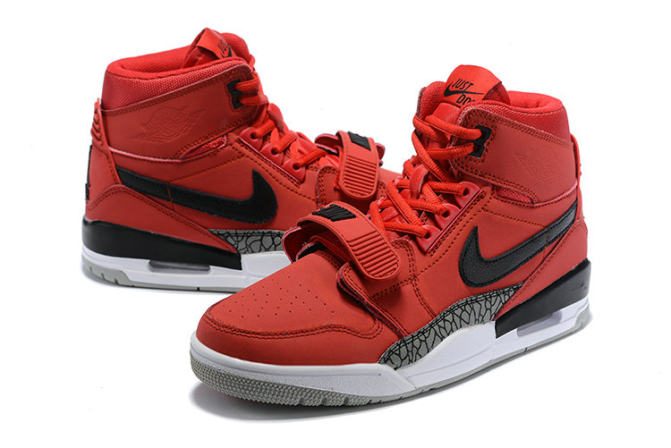 Where To Buy Cheap Nike Air Jordan Legacy 312 Varsity Red Black-White AV3922-601