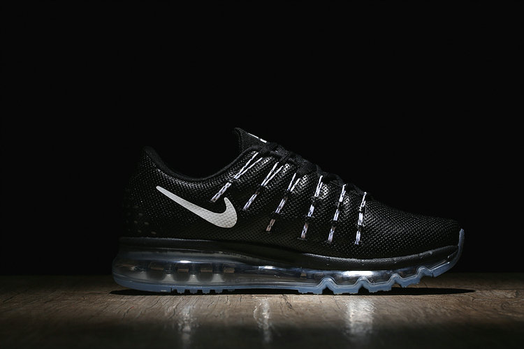 Womens Air Max Cheap Wholesale Air Max 2016 Leather Fire White Black